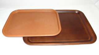 Wood Plastic Tray