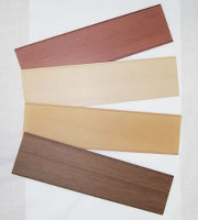 Thin plates (Extruded items)